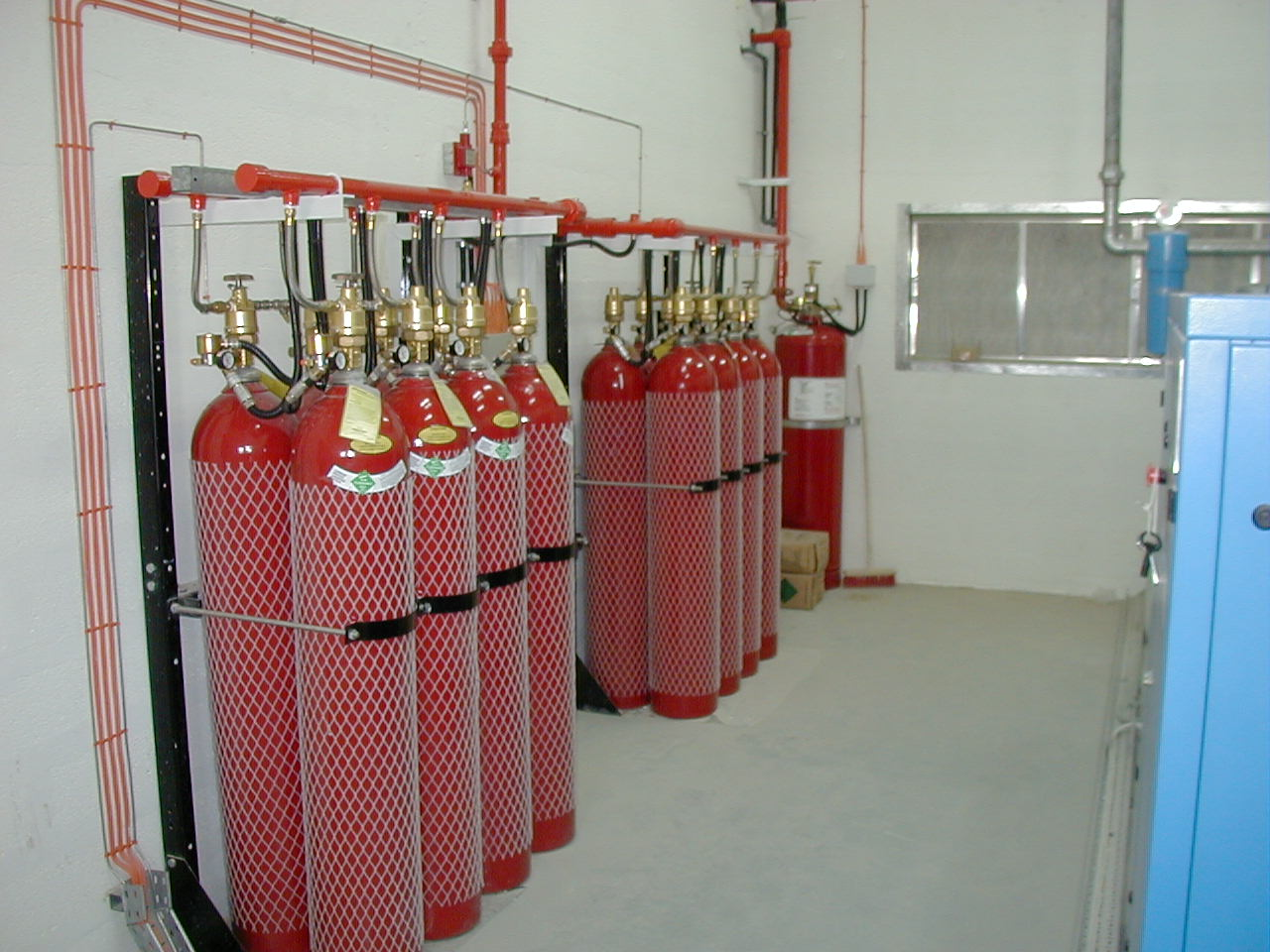 Aerotest facilities - Fire system